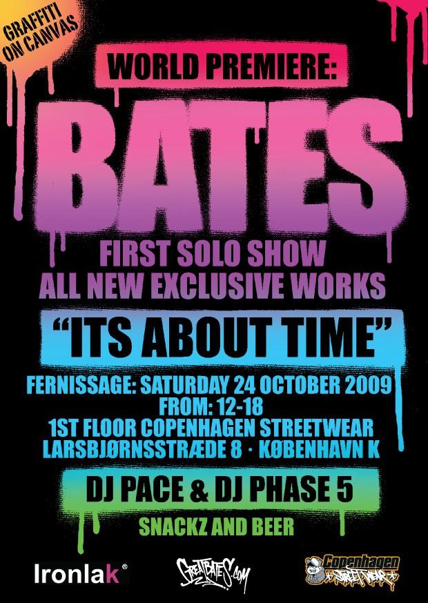 Bates flyer