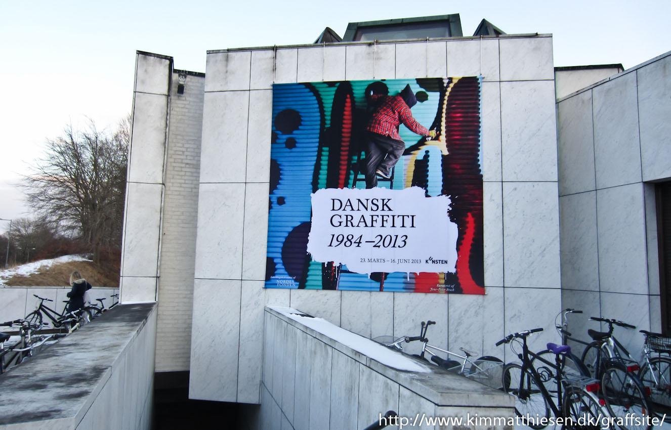 Dansk graffiti 1984-2013 i radioen