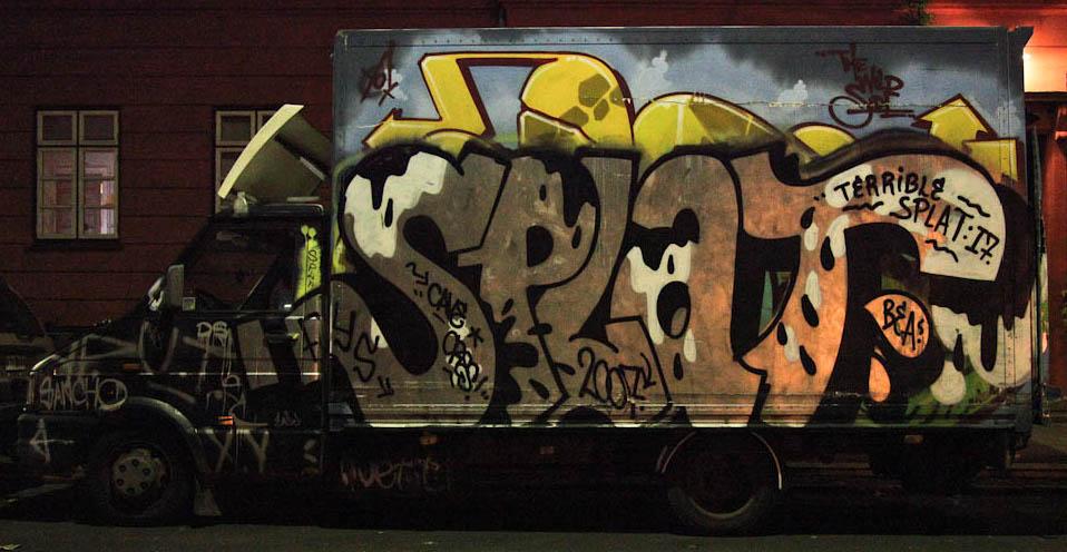 Truck in Copenhagen