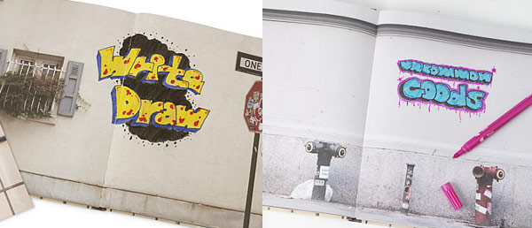 Graffiti Set from Sherwood Forlee