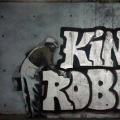 Robbo answers banksy