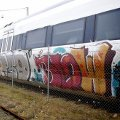 Rise in train graffiti in Odense