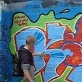 Street art in Århus (DK) guidet tour by graffiti artist[youtube]