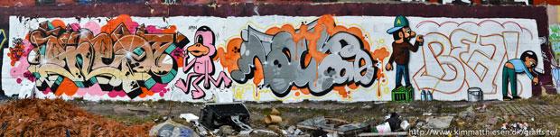 Dansk graffiti sydhavnen
