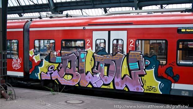 german graffiti db bahn