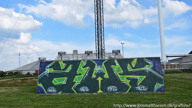 dansk graffiti ulovligt