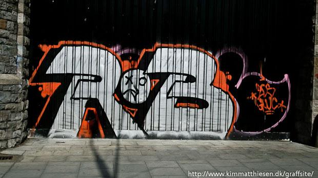 travels graffiti dublin