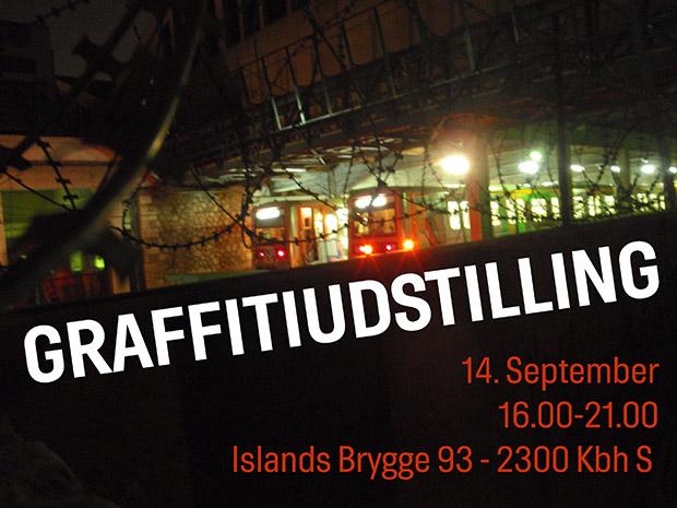 Graffitiudstilling på Bryggen