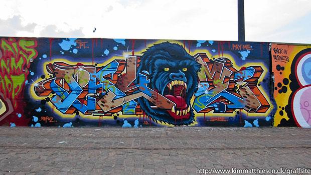 dansk graffiti lovlig