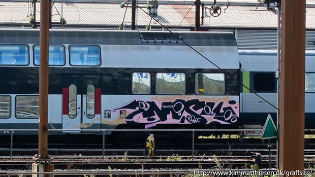 dansk graffiti tog