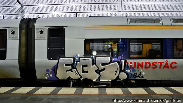 svensk graffiti tåg