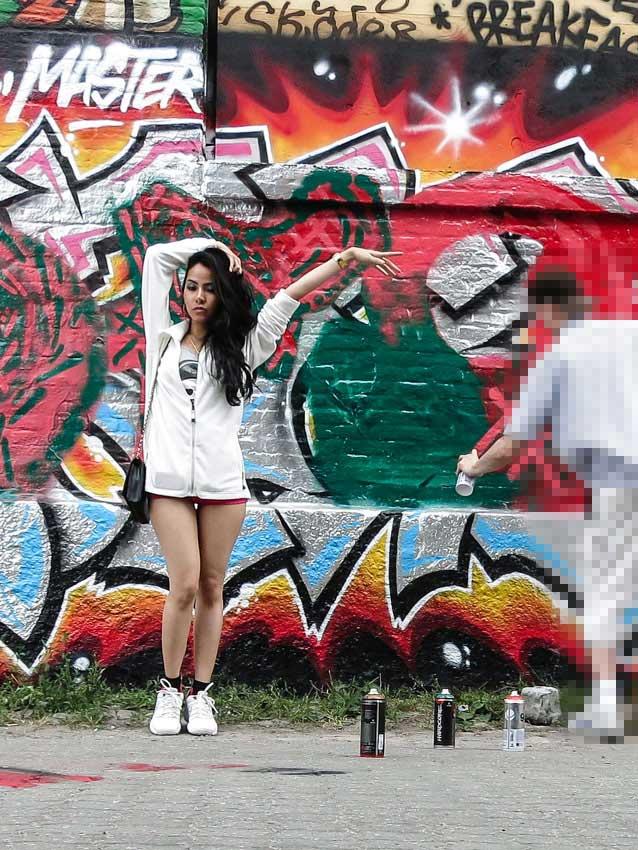 kfc crew graffiti