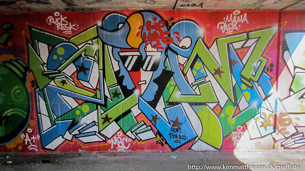 dansk graffiti Kolding
