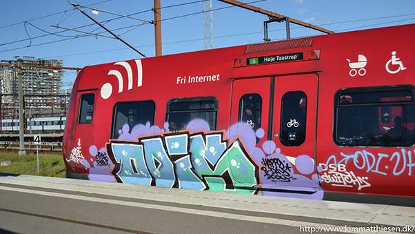 danish graffiti