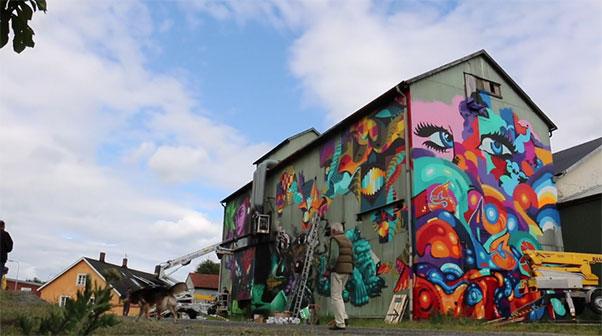 Street Art Österlen