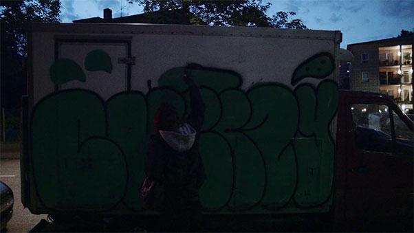 Cheezy, Graffiti Artist