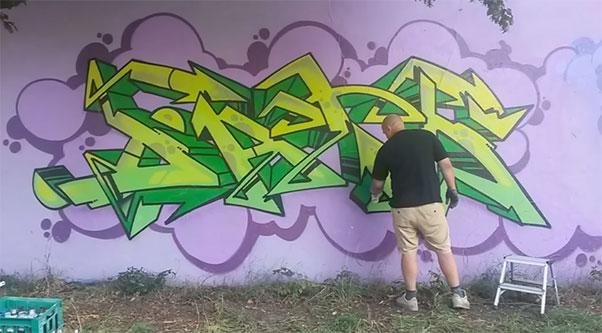 Dato Stick up kids Graffititour 2015