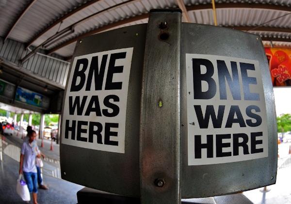 BNE was here! by antwerpenR